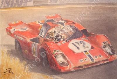 512M tertre rouge le Mans 24hours 1971