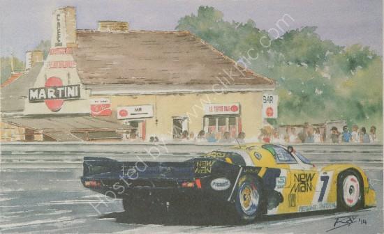 Newman Joest Porsche 956 LM1984 at Tertre Rouge