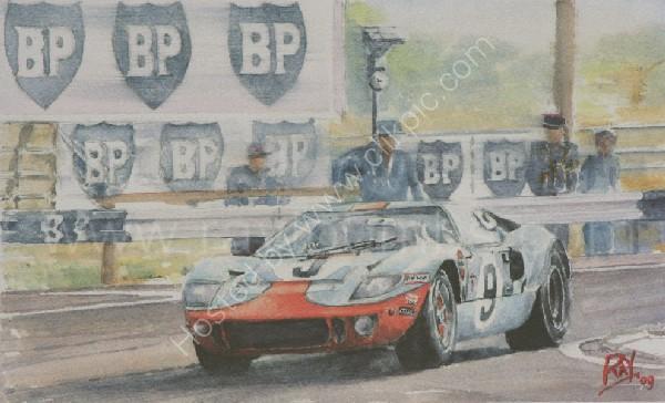 GT40 Le Mans 1968