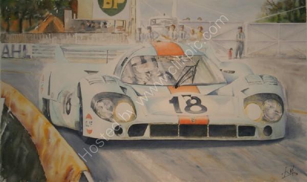 Porsche 917lh LM1971