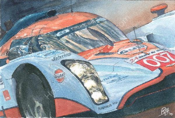 Aston Martin LMP1 Le Mans 2009