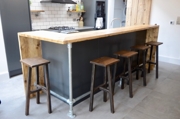 Scaffold breakfast bar