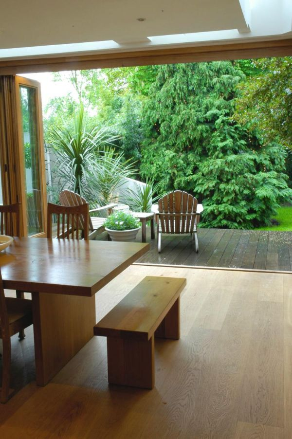 Sliding/folding doors to garden