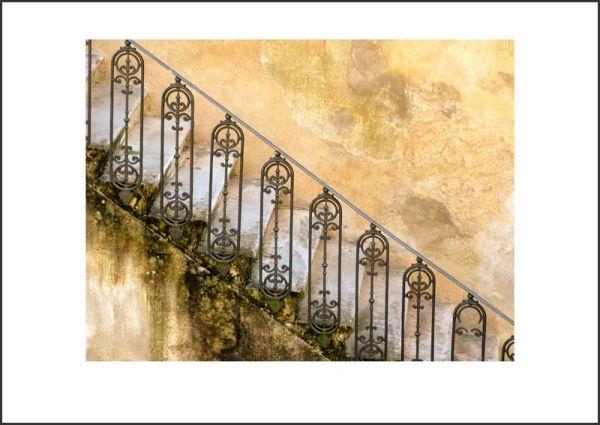 IT09003. Staircase, San Gimignano