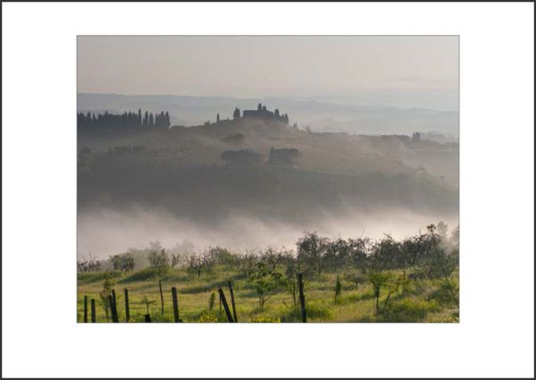 IT10007. Morning Mist, Tuscany
