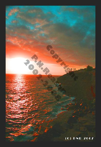 Sunset from Callao Salvaje