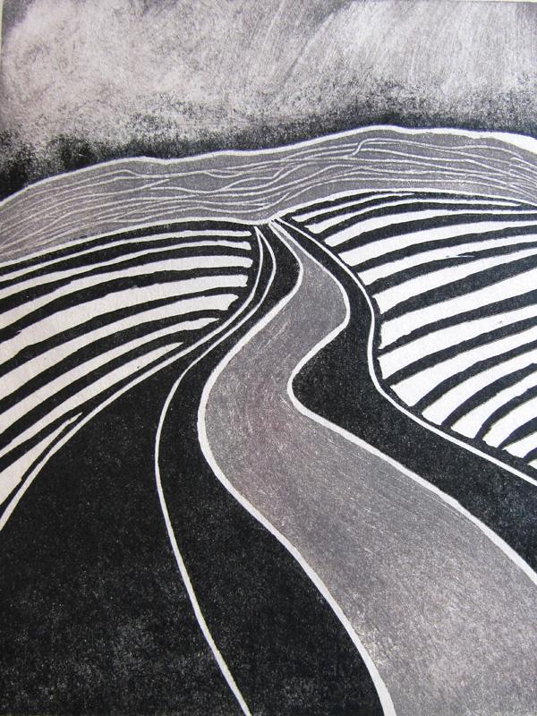 Grey road