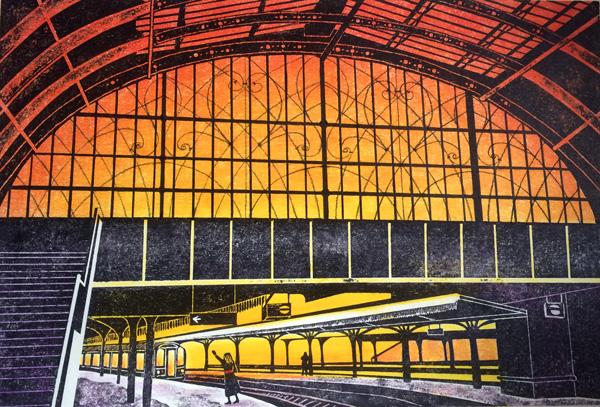 Paddington Departure (sunset version)