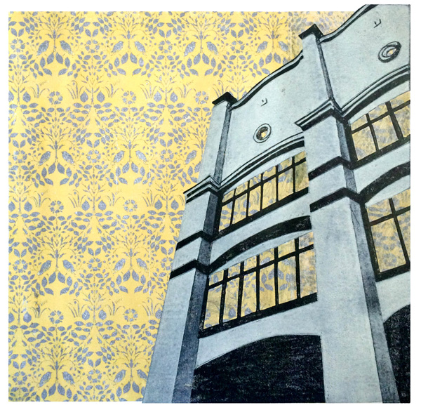 Voysey House Wallpaper