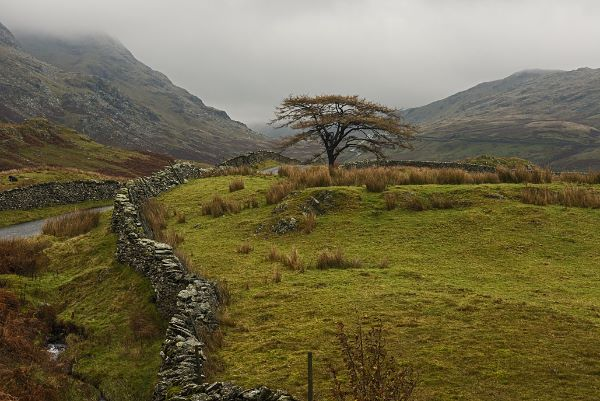The road to Kirkstone Pass