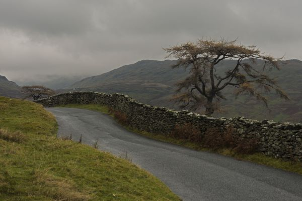 The Road leading to Kirkstone Pass