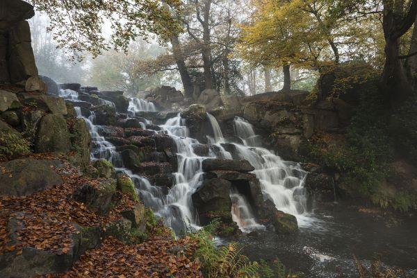 The Cascade Virginia Water Falls