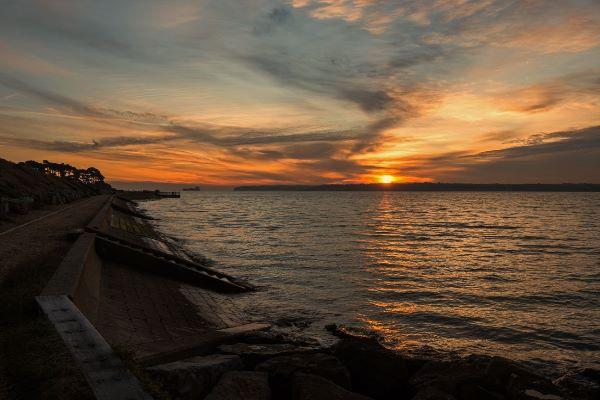Sunrise at Lepe