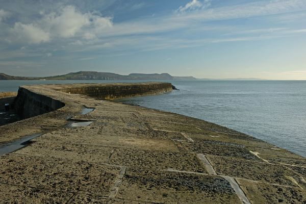 The Cobb Lyme Regis Dorset