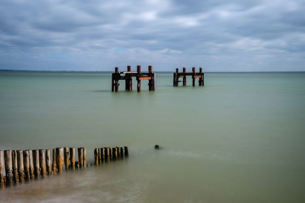 Pier remains in the Solent