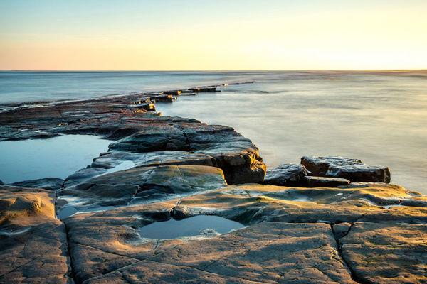 Kimmeridge Ledges Kimmeridge Bay