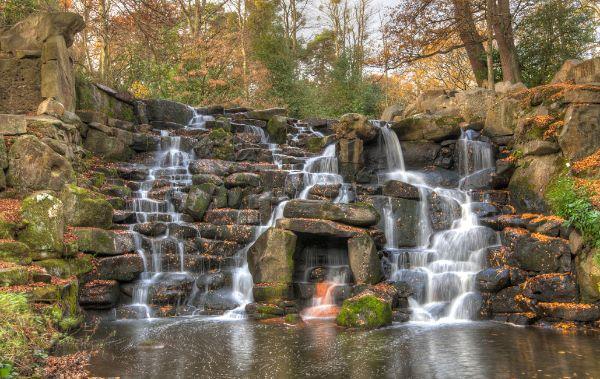 Virginia Water Falls
