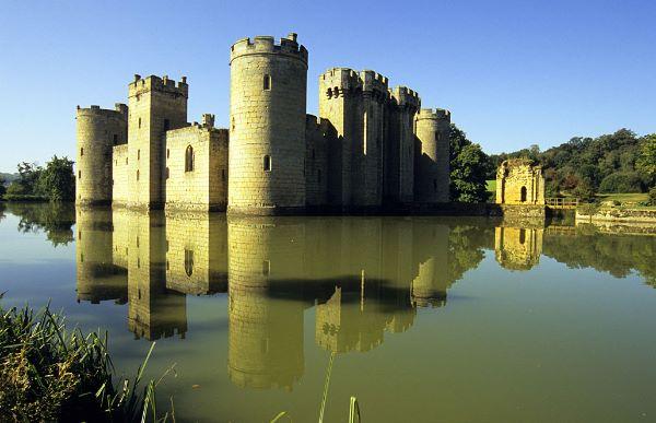 Bodiam Castle Reflection