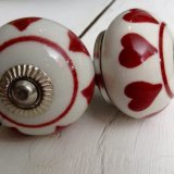 Forever Hearts Berry Red Handles - £4.95 ea
