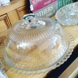 Glass Dish & Cloche - £ 20