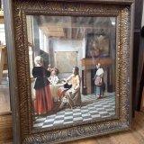 Vintage framed picture - £35