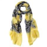 Gorse yellow design scarf -£12