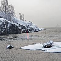 View from Uunisaari, Helsinki