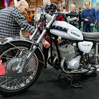 Motor cycle fair, Helsinki