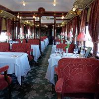 Dining car, Venice-Calais Orient Express