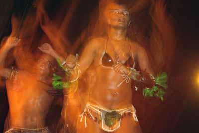 Dancing in Manaus
