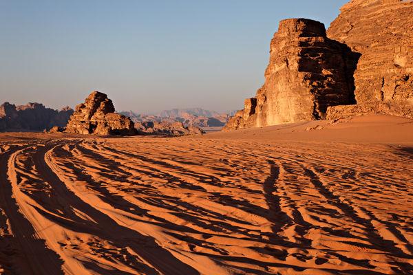 Trails, Wadi Rum, Jordan