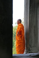 Monk, Angkor