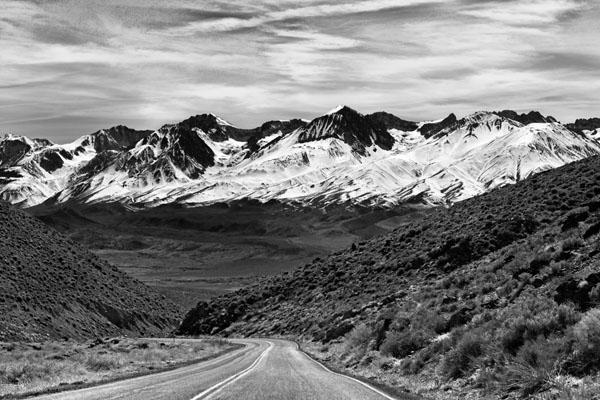 Road to Sierra Nevada