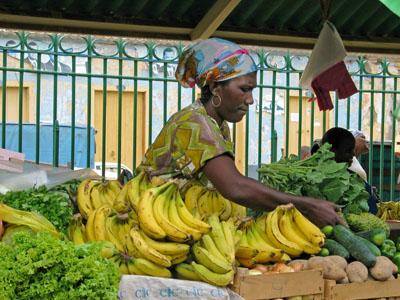Banana woman