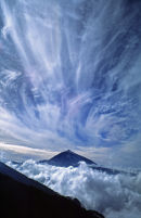 Clouds over Teide