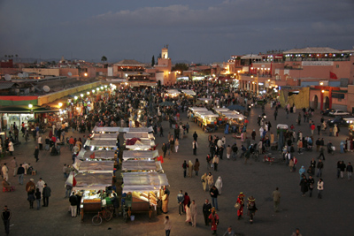 Night market II, Marrakech