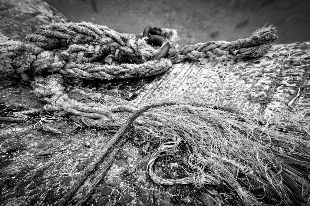Peneuf Val Andre, anchor rope