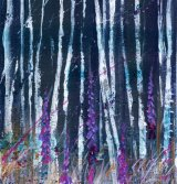 Foxgloves & Birches