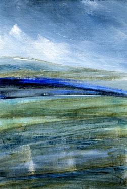 storm passing, Alston Moor