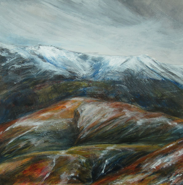 Early snow above Kentmere