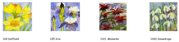 CARDS: 12cm sq. series 1