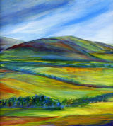 summertime in the Cheviot Hills
