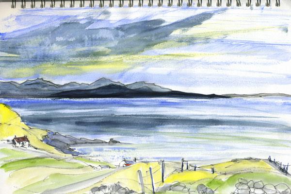 towards the Summer Isles Scotland