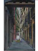 pingu lost in barcelona