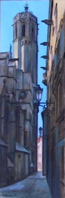 Barca street, cathedral