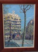 "Gaudi's ""la Padrera"" (casa millas), barcelona"