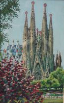 la Sagrada Familia Cathedral, Barcelona