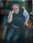 Portrait of Alasdair Gray (1934-2019)