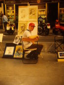me on Las Ramblas around 2000
