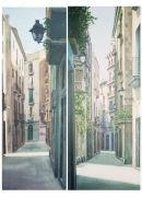 Barcelona streets. (perspective studies0